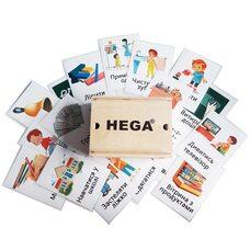 Демонстрационные карточки PECS для визуальной комуникации ТМ «HEGA»