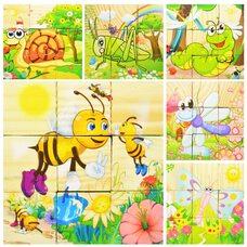9 кубиков «Насекомые»