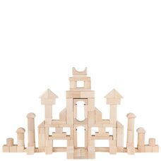 Мега деревянный конструктор, 100 дет.
