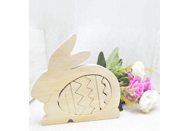 «Кролик» 3D пазл, 8 дет.