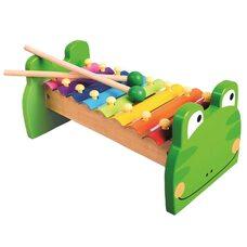 Ксилофон 8 тонов цветной (металл)