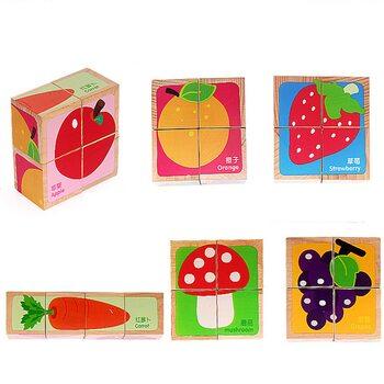 Кубики «Ассорти» (фрукты-овощи)