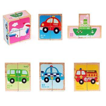 Кубики «Ассорти» (транспорт)