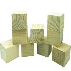 9 кубиков (неокрашенные)