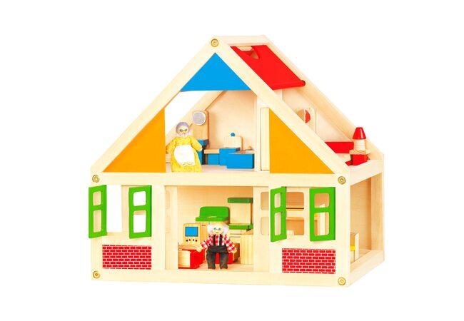 Кукольный домик 2 этажа