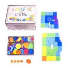 Развивающая игра «Цветное квадро домино»