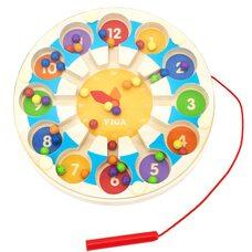 Магнитный лабиринт с шариками «Часики»