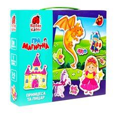 Игра с магнитами «Принцесса и рыцарь»