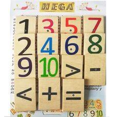 Набор магнитов «Цифры и знаки» от «ТМ HEGA»