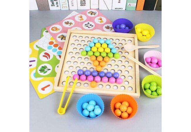 Мозаика-МЕМО «Цветные шарики»