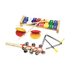 Музыкальный набор, 4 инструмента.