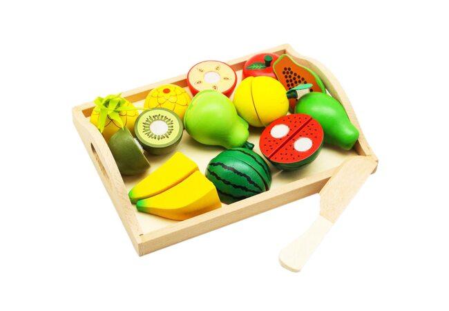 Деревянные фрукты (разрезные)