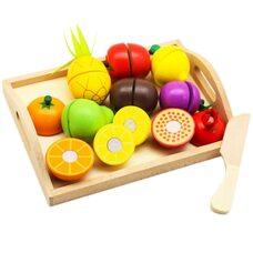 Разрезные продукты-фрукты