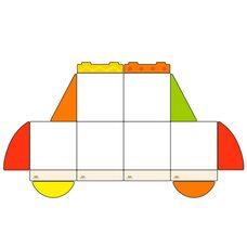 Набор магнитных досок №12 «Автомобиль»