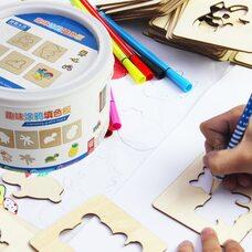 Детский набор для творчества «Трафареты»