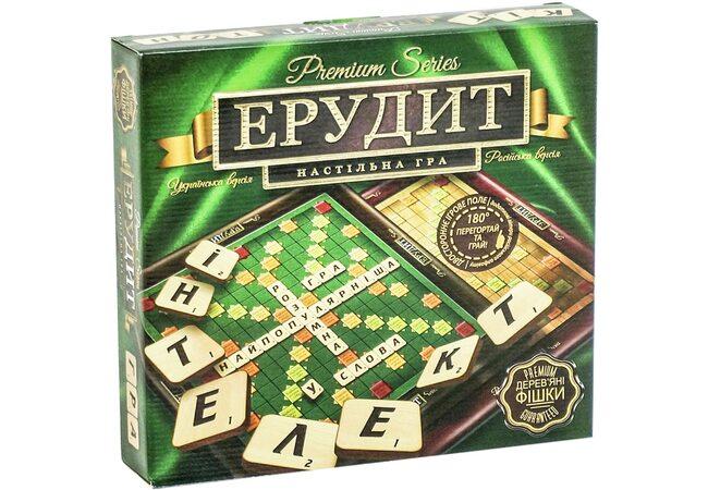 Настольная игра «Эрудит» (укр-рус)