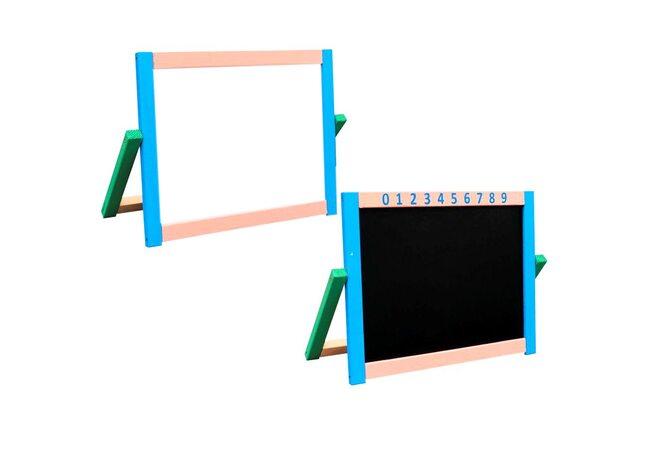 Настольный 2-х сторонний мольберт (магнитный)