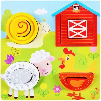 Объемные пазлы-картинки «Ферма»