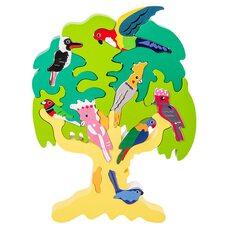 3D головоломка-пазл «Дерево для птиц» (Баобаб)