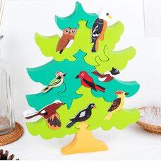 3D головоломка-пазл «Дерево для птиц» (Ёлка)