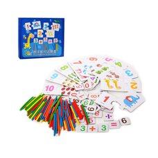 Развивающая пазловая игра «Досчитай до 10»