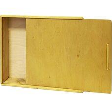 Пенал деревянный для материалов