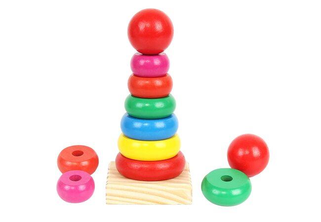 Пирамидка «Кольцевая» 7 элементов