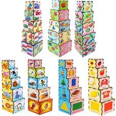 Пирамидка-кубики