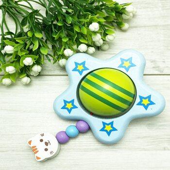 Погремушка-грызунок «Голубая звездочка»