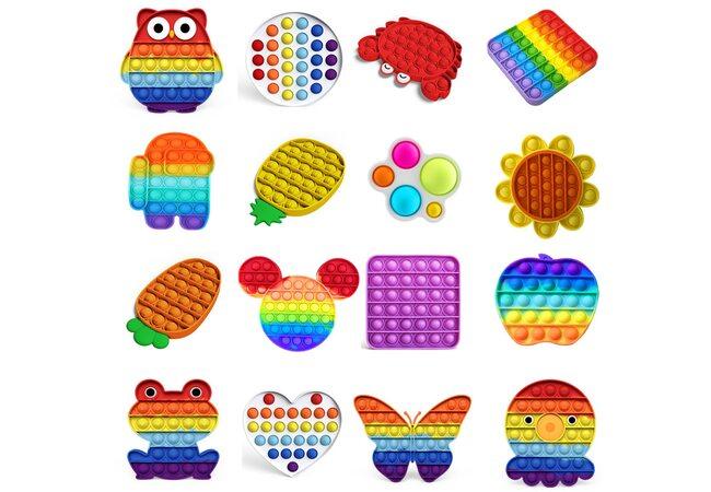 Серия развивающих игрушек «Pop it-Simple Dimple»