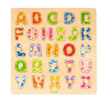 Вкладыши с ручкой «Английский алфавит»