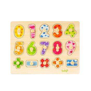 Рамка-вкладыш «Цифры-знаки» от 0 до 9
