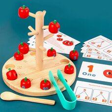 Развивающая игра «Яблоня»