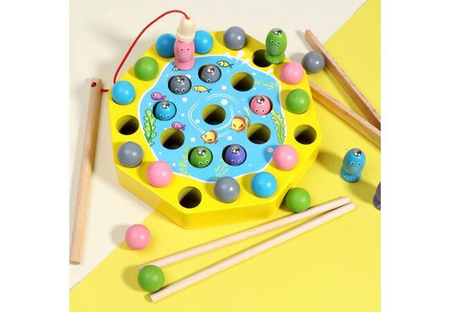 Игра-рыбалка с шариками «Моторика»
