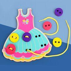 Шнуровка-пуговки «Платье»