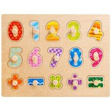 Рамка-вкладыш «Цифры+знаки»