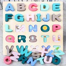 Вкладыши «Английские буквы» (заглавные, печатные)
