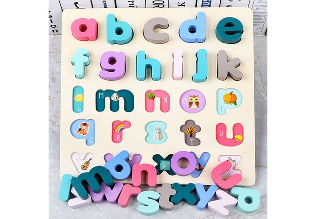 Вкладыши «Английские буквы» (маленькие, печатные)