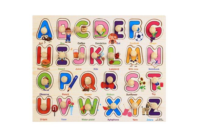 Вкладыши  «Английский алфавит»