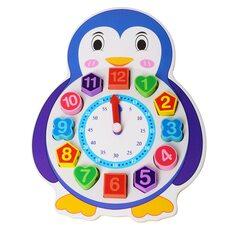 Вкладыши-часы-шнуровка «Пингвин»