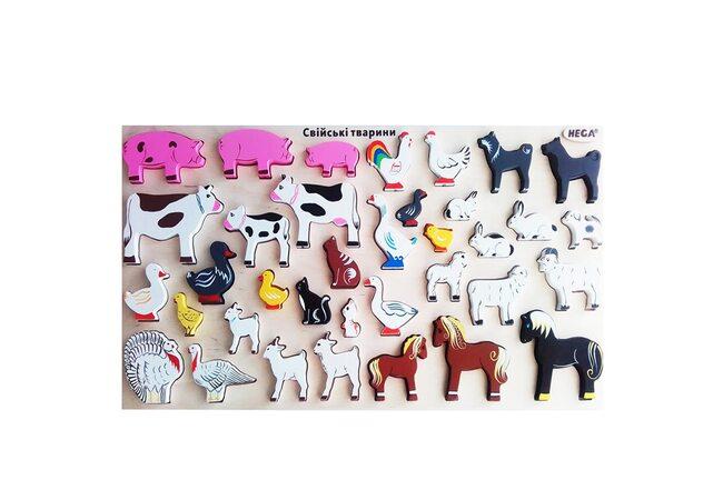 Большой набор «Домашние животные»