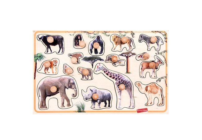 Вкадыши «Животные Африки»