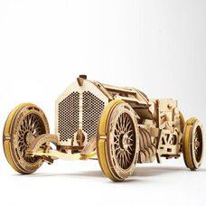 Механическая 3D-модель «Спорткар U-9 Гран-при», 348 дет.