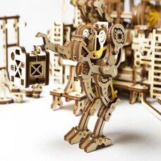 Механическая 3D-модель «Фабрика роботов», 598 дет.