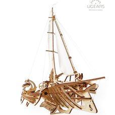 Механическая 3D-модель «Тримаран Мерихобус», 237 дет.