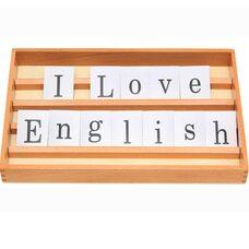 Английский алфавит. Печатные буквы.