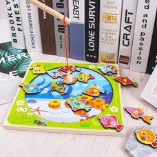 Игра-рыбалка «Шарики-рыбки»
