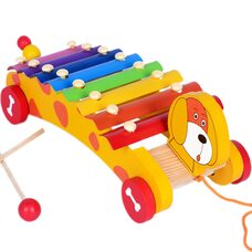 Каталка-ксилофон «Пёсик»