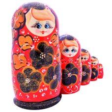 Матрешка 5 в 1 «Куколки»