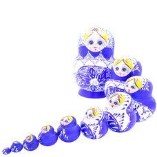 Матрешка «Куколки», 10 в 1